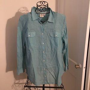 Lightweight button down shirt